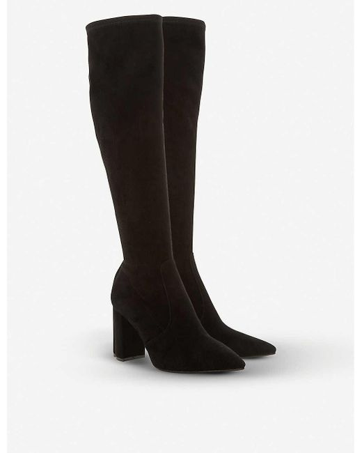 Dune Tampa Knee-high Leather Boots in