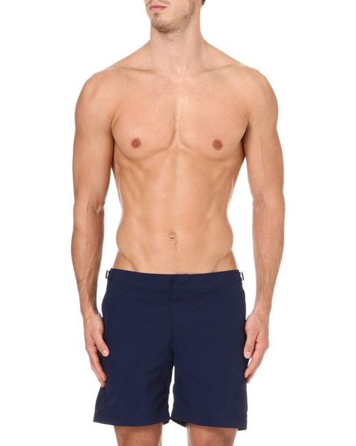 Orlebar Brown - Blue Bulldog Swim Shorts for Men - Lyst