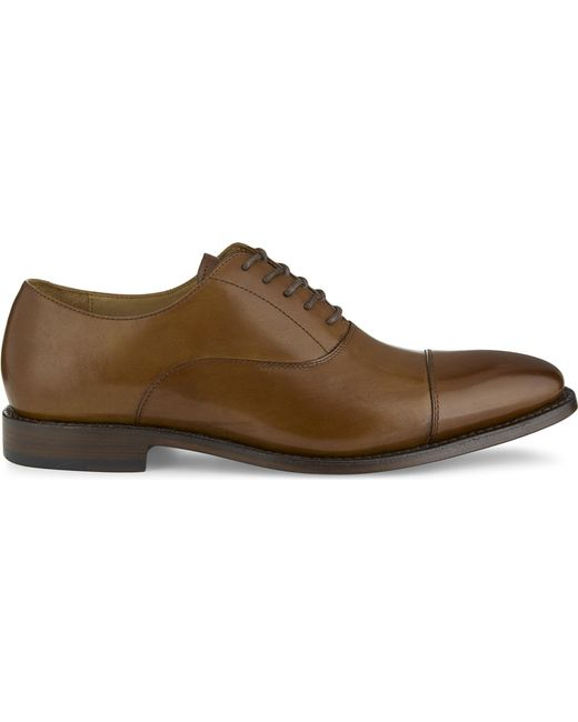 ALDO - Brown Nadief Leather Oxford Shoes for Men - Lyst