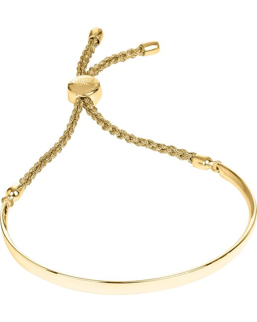 Monica Vinader - Metallic Fiji 18ct Gold-plated Chain Bracelet - Lyst