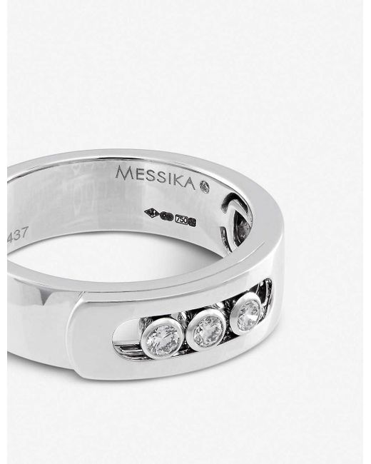 Messika Move Noa 18ct White-gold And Diamond Ring