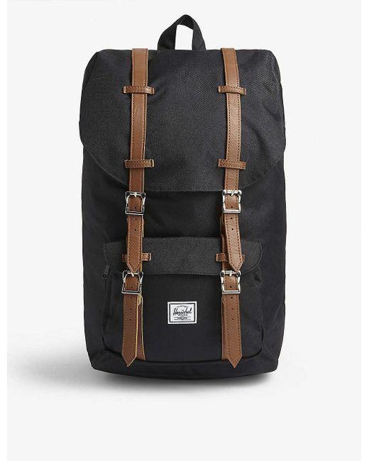 Herschel Supply Co. Black Little America Backpack