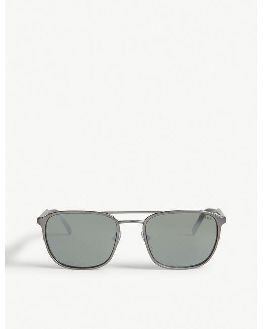 Prada Gray Pr 75vs Conceptual Sunglasses