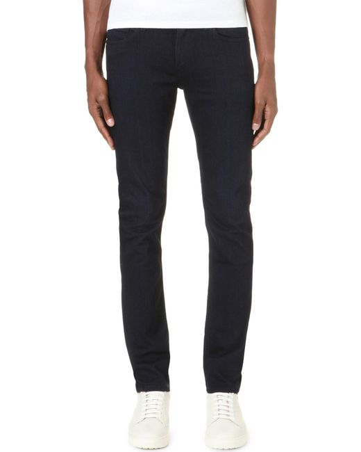 PAIGE - Blue Croft Super-skinny Tapered Jersey Jeans for Men - Lyst