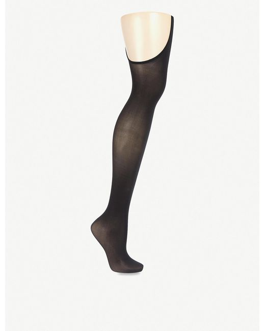 Wolford Black Individual 12 Stay-hip Tights