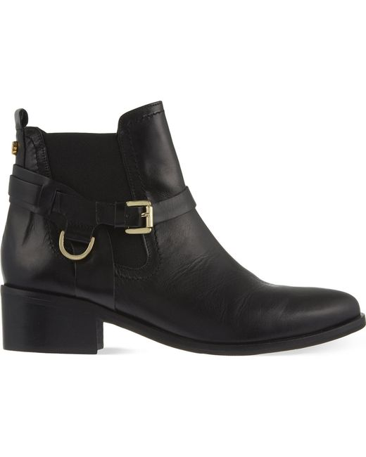 Carvela Kurt Geiger - Black Saddle Leather Chelsea Boots - Lyst