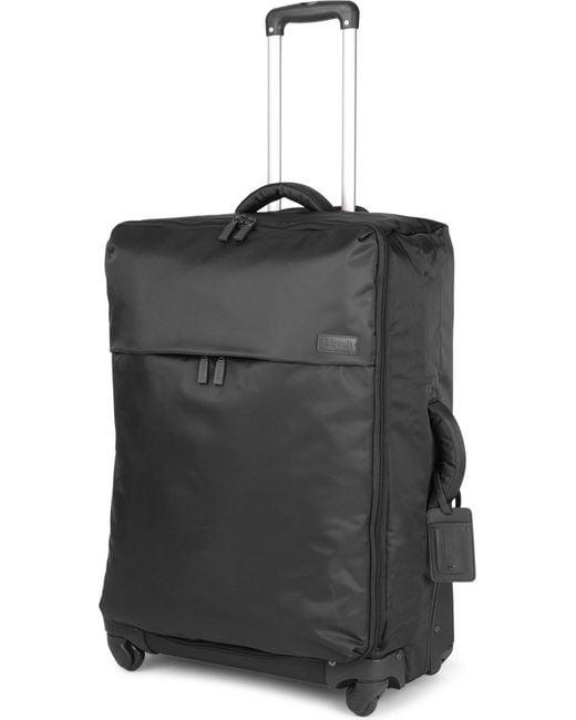Lipault - Black Original Plume Four-wheel Suitcase 72cm for Men - Lyst