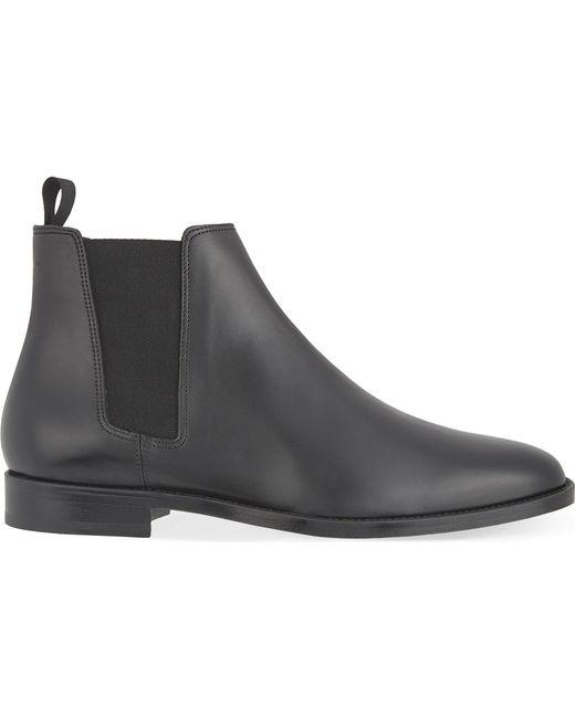 Sandro - Black Leather Chelsea Boots for Men - Lyst