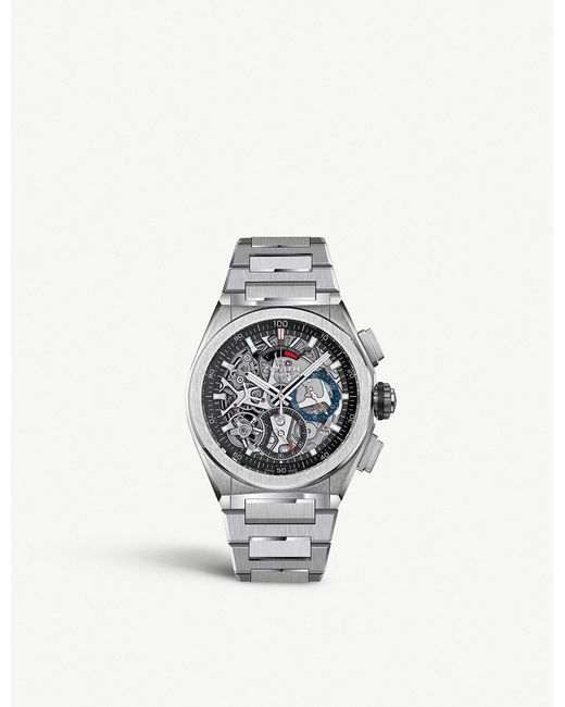 Zenith - Metallic 95.9000.9004/78.m9000 Defy El Primero 21 Titanium Watch for Men - Lyst