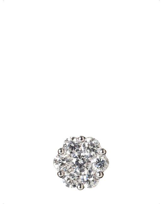 Annoushka Metallic 18ct White Gold And Diamond Daisy Earring