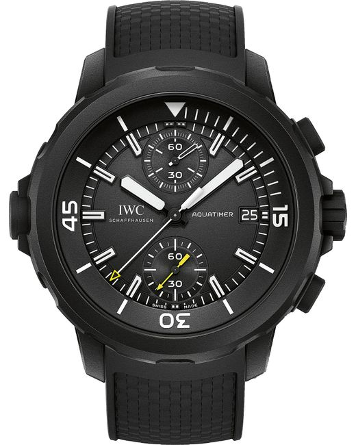 Iwc - Multicolor Iw379502 Aquatimer Rubber-coating Stainless Steel Watch - Lyst