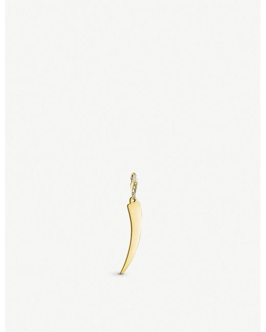 Thomas Sabo - Tooth 18ct Yellow-gold Charm - Lyst