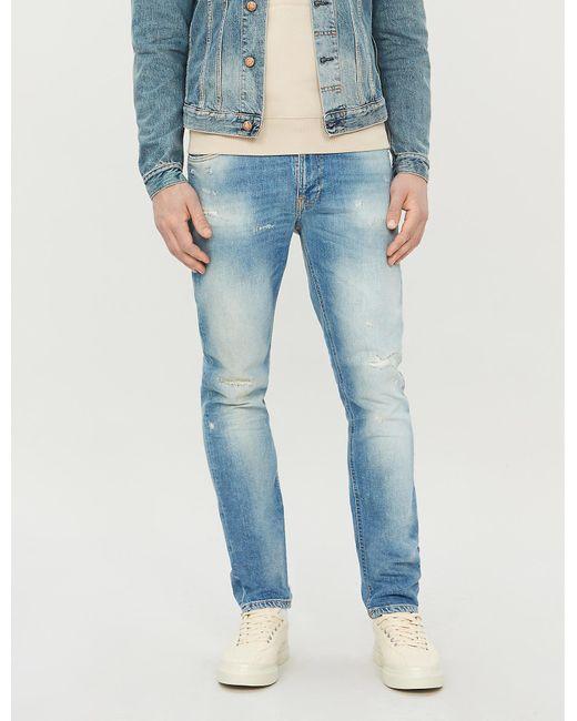 hyvä palvelu 50% alennus yksinoikeudella Lean Dean Ripped Slim-fit Tapered Jeans