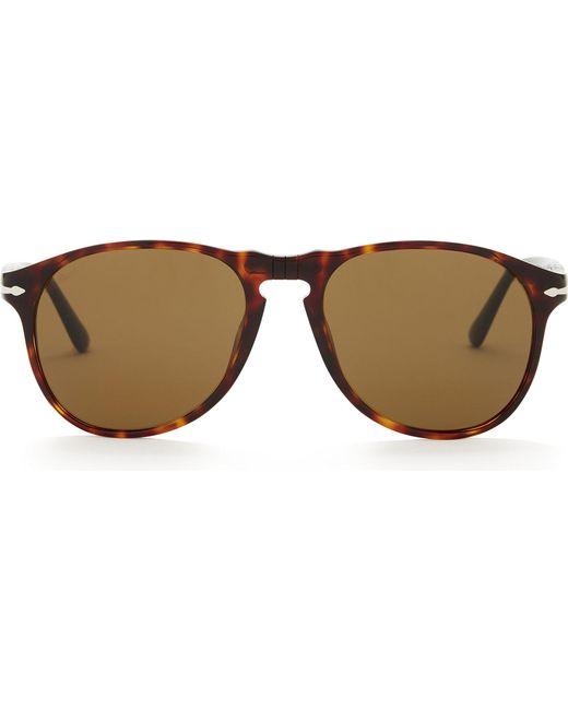 9f781157a3 Persol - Multicolor Po6649s Aviator Sunglasses - Lyst