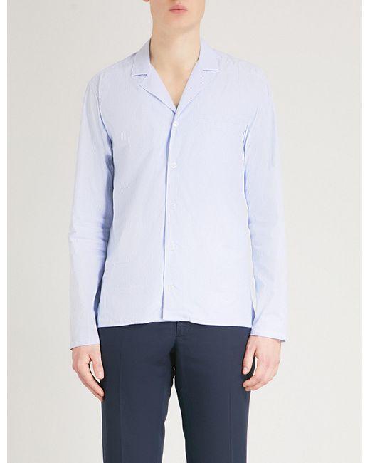 Eton of Sweden - Blue Striped Slim-fit Cotton Shirt for Men - Lyst