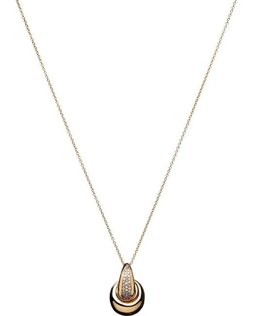 Links of London | Metallic Hope 18ct Gold Diamond Pendant Necklace | Lyst