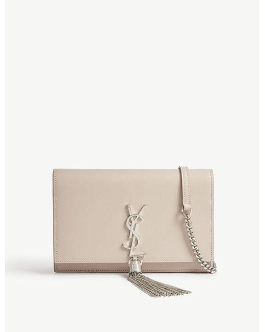 Saint Laurent - Multicolor Kate Monogram Leather Shoulder Bag - Lyst