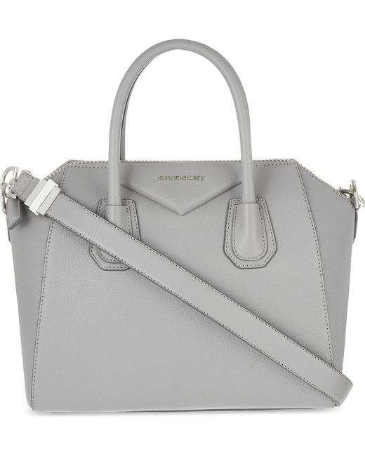 Givenchy | Gray Antigona Sugar Small Soft-grained Leather Tote | Lyst