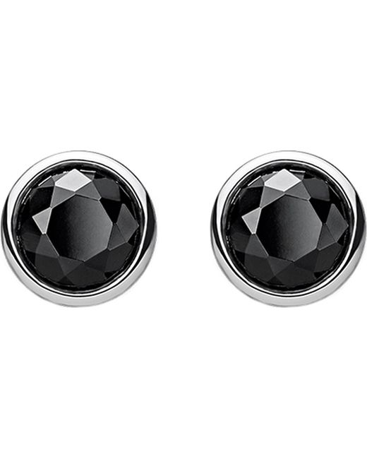 Thomas Sabo - Metallic Classic Black Stone Sterling Silver Ear Studs - Lyst