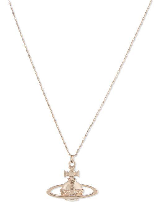 Vivienne Westwood - Metallic Suzie Orb Necklace - Lyst
