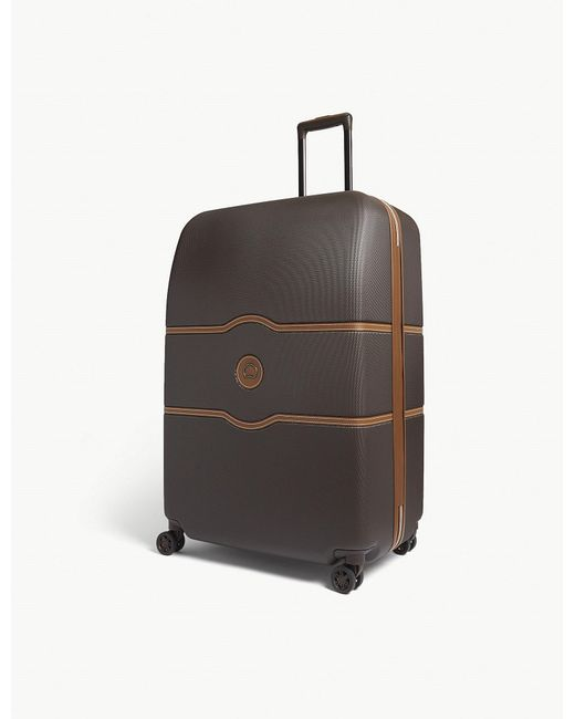 Delsey - Brown Chatelet Hard Four-wheel Suitcase 82cm - Lyst