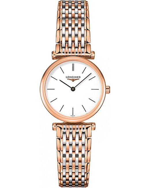 Longines - White L42091927 La Grande Classique Stainless Steel Watch - Lyst