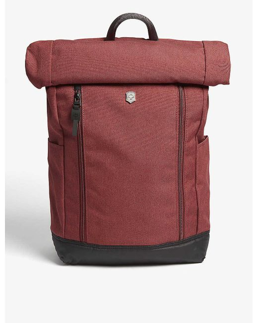 Victorinox Red Altmont Rolltop Backpack