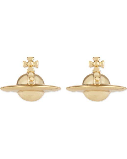 Vivienne Westwood - Metallic Solid Orb Earrings - Lyst