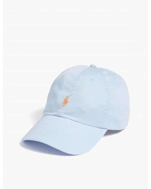fe9761d695b Polo Ralph Lauren Pony Baseball Cap in Blue for Men - Lyst