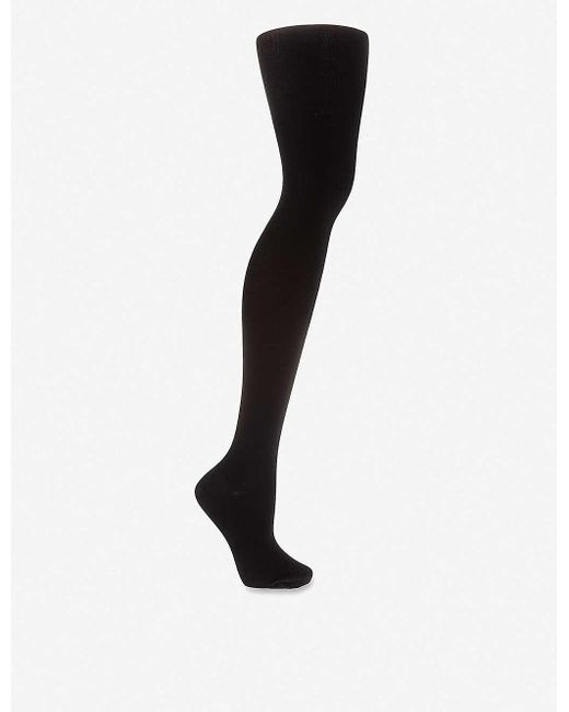Wolford Women's Black Merino Wool Tights