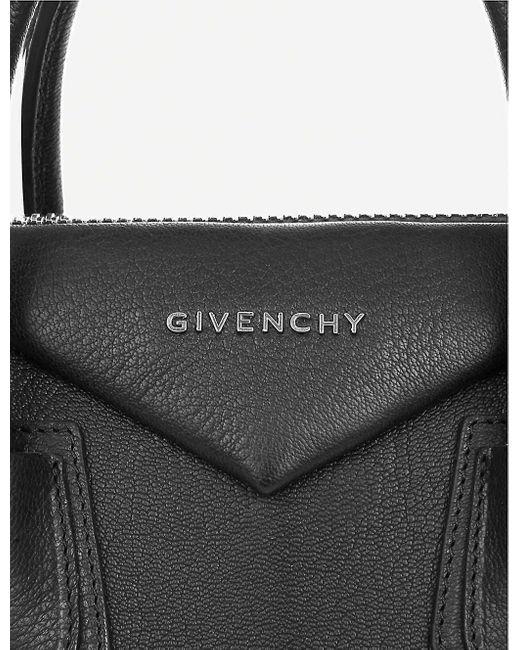 Givenchy Women's Black Antigona Sugar Soft-grained Leather Tote