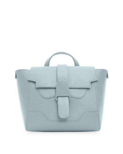 Senreve Blue The Mini Maestra Bag