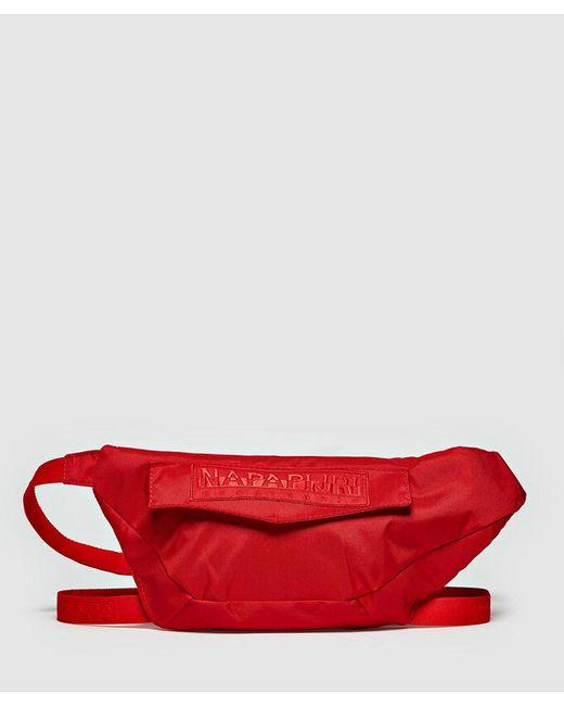 Napapijri - Red H-peric Waist Bag for Men - Lyst