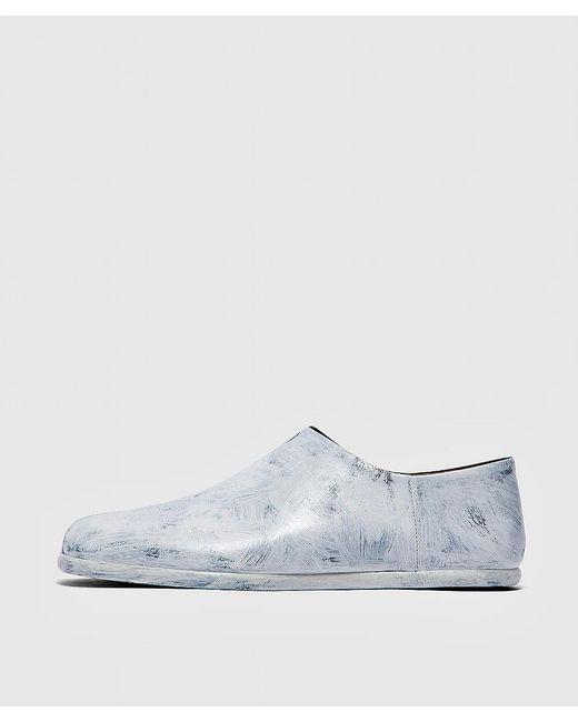 Maison Margiela White Tabi Babouche Shoe for men
