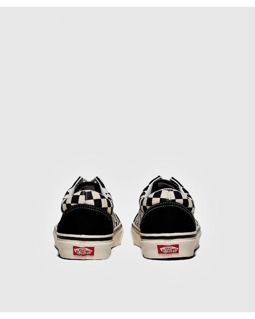 a992850d0bfc ... Vans - Black Anaheim Oldskool Check Sneaker for Men - Lyst ...
