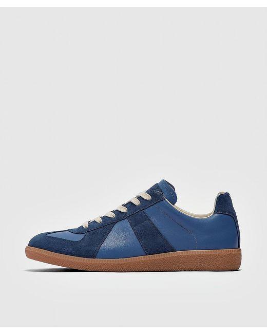 Maison Margiela Blue Replica Low Top Sneaker for men