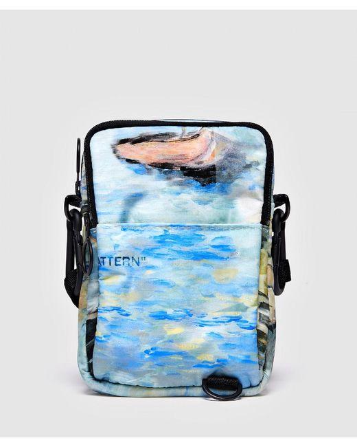 Off-White c/o Virgil Abloh - Blue Lake Hip Bag for Men - Lyst