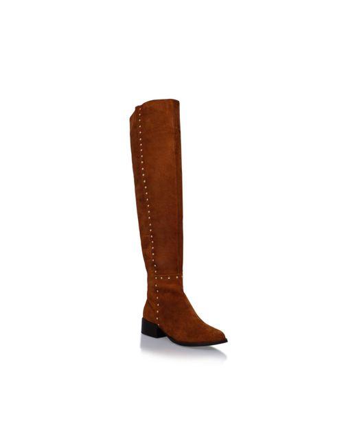 Carvela Kurt Geiger - Brown Will Knee High Boots - Lyst