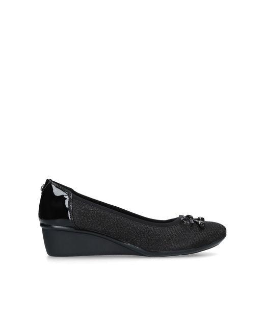 Anne Klein Darlene 45 Mm Heel Courts Black