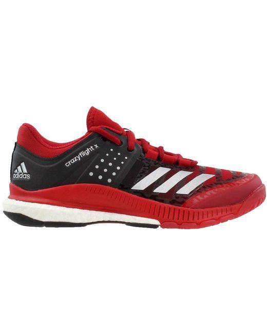 7a28870dd adidas Crazyflight X in Red - Save 32% - Lyst