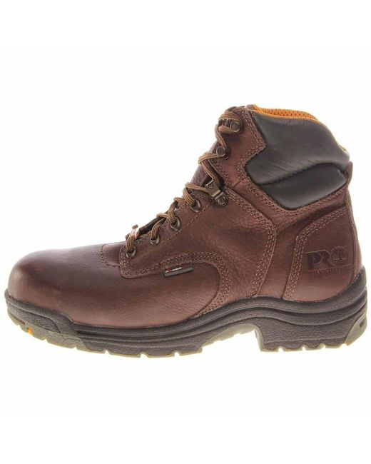 0037805be61 Men's Brown Titan 6 Inch Alloy Toe Work Boots
