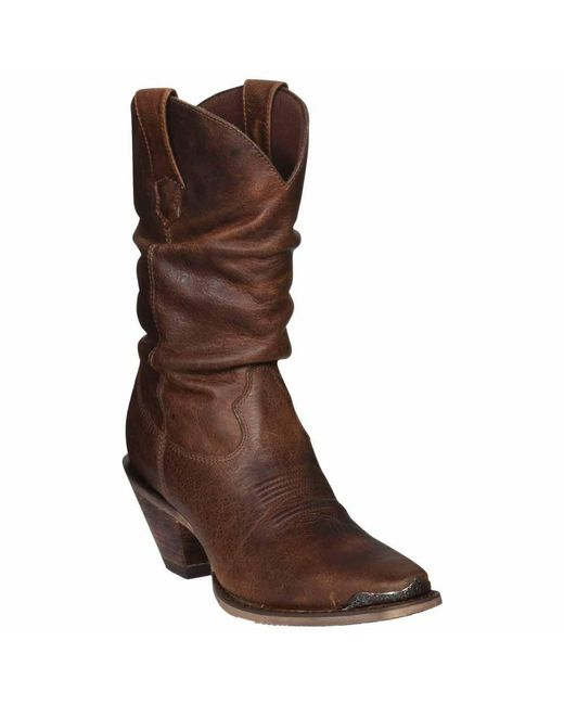 Durango - Crush By Women's Brown Sultry Slouch Boot - Lyst