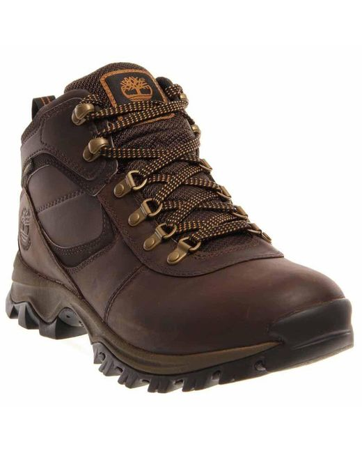 Timberland | Brown Earthkeepers Mt. Maddsen Mid Waterproof for Men | Lyst