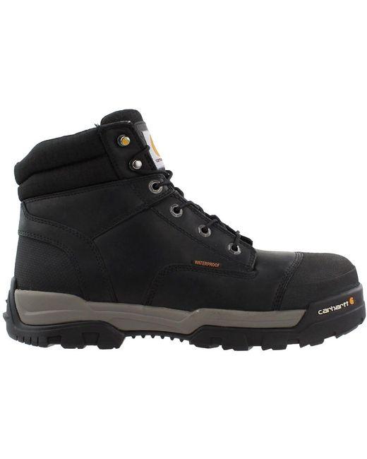 799494dc2cd Men's Black Ground Force 6 Inch Waterproof Composite Toe Work Boot