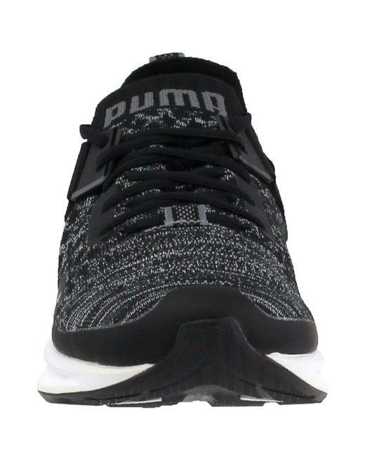 ... PUMA - Black Ignite Evoknit Low for Men - Lyst ... fb793ca8c
