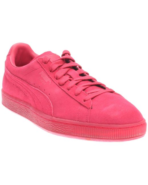 PUMA - Red Suede Classic Ice Mix Suede Classic Ice Mix - Lyst
