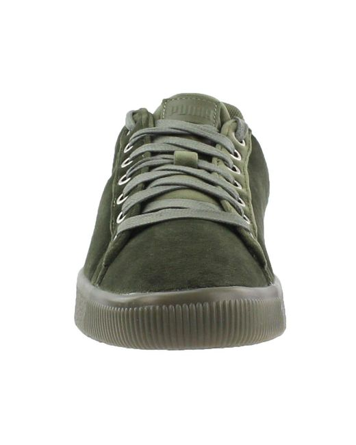 online store 9186d 217ef Men's Clyde Velour Ice Shoes Olive Green 366549-03 (11 D(m) Us)