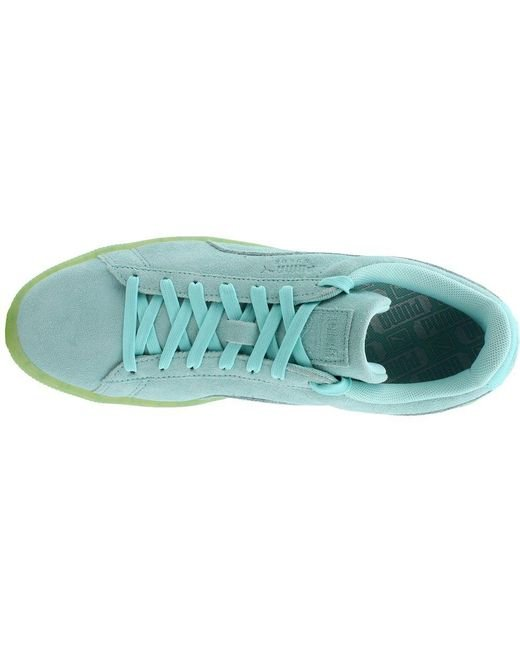 the best attitude 3cdd1 eac1b ... PUMA - Blue Suede Classic Easter Fm for Men - Lyst ...