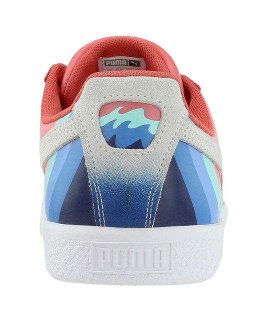 39c8f5ea530e Lyst - PUMA Pink Dolphin Clyde in Pink for Men