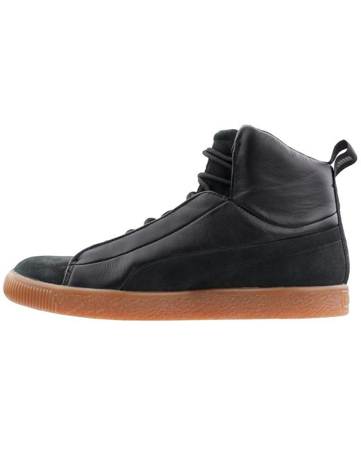official photos 8766e 1b9cb Men's Black Naturel Clyde Fshn Mid